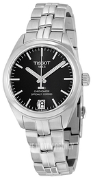 Tissot PR 100 Automatic Lady Cosc Black/Steel Ø33 mm T101.208.11.051.00