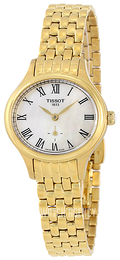 Tissot T-Lady Bella Ora Piccola White/Yellow gold toned steel Ø24.4 mm T103.110.33.113.00