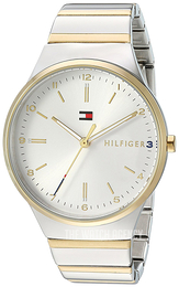 f83de58a106cf4 Tommy Hilfiger Dress Silver colored/Yellow gold toned steel Ø38 mm 1781800
