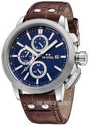 TW Steel Ceo Adesso Blue/Leather Ø48 mm CE7010