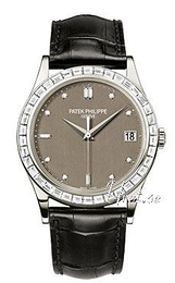 Patek Philippe Calatrava Grey/Leather Ø38 mm 5298P