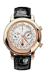 Patek Philippe Grand Complications Sky Moon Tourbillon White/Leather Ø42.8 mm 5002R/001