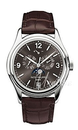 Patek Philippe Grand Complications Annual Calender Grey/Leather Ø39 mm 5146G/010