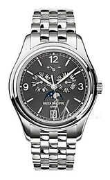 Patek Philippe Complicated Annual Calender Grey/Steel Ø39 mm 5146/1G/010