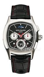 Patek Philippe Grand Complications Black/Leather 45x37 mm 5951P/001