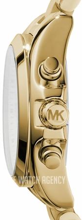 6d65b80877b2 ... Michael Kors Bradshaw Champagne colored Yellow gold toned steel Ø35 mm  MK5798. prev