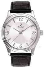 Bulova Silver colored/Leather