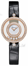 Chopard Happy Diamonds Icons White/Leather Ø25 mm