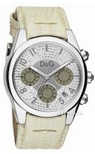 Dolce & Gabbana D&G Silver/Leather Ø32 mm
