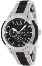 Emporio Armani Exchange Chronograph Black/Steel