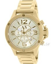 Emporio Armani Exchange Yellow gold toned/Yellow gold toned stee