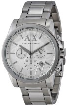Emporio Armani Exchange Chronograph Silver colored/Steel