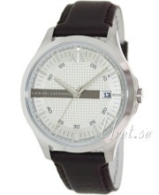 Emporio Armani Exchange Silver colored/Leather