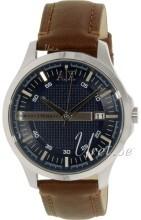 Emporio Armani Blue/Leather