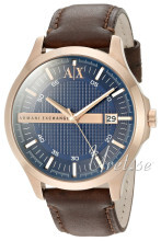Emporio Armani Blue/Leather