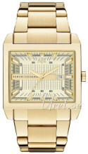 Emporio Armani Exchange Champagne colored/Yellow gold toned stee