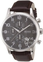 Hugo Boss Grey/Leather Ø44 mm