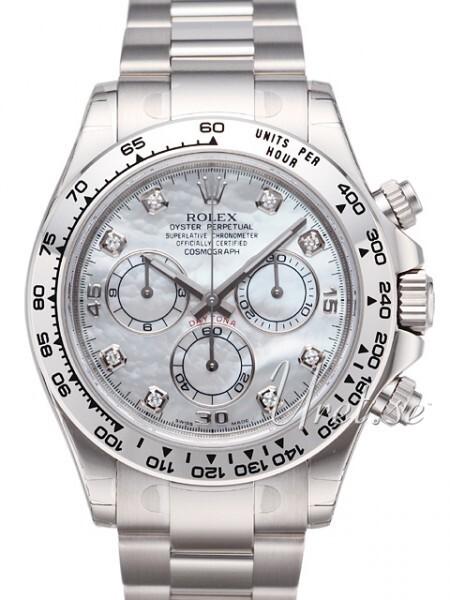 Rolex Daytona Silver
