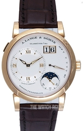 A. Lange & Söhne Lange 1 Moon Phase White/Leather Ø38.5 mm 109.032