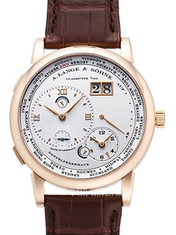 A. Lange & Söhne Lange 1 GMT White/Leather Ø41.9 mm 116.032