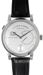 A. Lange & Söhne Lange 31 Silver colored/Leather Ø45.9 mm 130.025