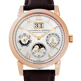 A. Lange & Söhne Langematik-Perpetual White/Leather Ø38.5 mm 310.032