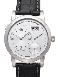 A. Lange & Söhne Lange 1 Silver colored/Leather Ø38.5 mm 101.039