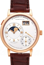 A. Lange & Söhne Lange 1 Silver colored/Leather Ø41 mm 139.032