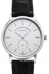 A. Lange & Söhne Saxonia Silver colored/Leather Ø35 mm 219.026