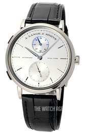 A. Lange & Söhne Saxonia Silver colored/Leather Ø40 mm 385.026