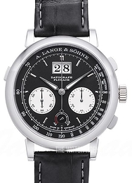 A. Lange & Söhne Saxonia Black/Leather Ø41 mm 405.035