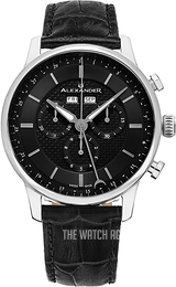 Alexander Statesman Black/Leather Ø42 mm A101-02