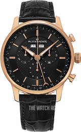 Alexander Statesman Black/Leather Ø42 mm A101-04