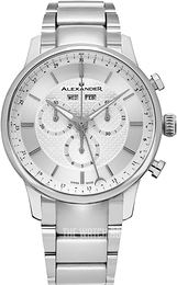 Alexander Statesman Silver colored/Steel Ø42 mm A101B-01