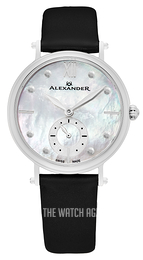Alexander Monarch White/Satin Ø34 mm A201-01