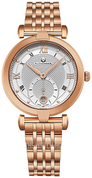 Alexander Monarch Silver colored/Rose gold colored steel Ø35 mm A202B-04