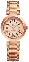 Alexander Monarch Rose gold colored/Rose gold colored steel Ø32 mm A203B-05