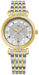 Alexander Monarch Silver colored/Yellow gold toned steel Ø35 mm AD202B-02