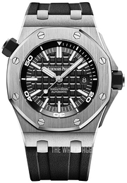 Audemars Piguet Royal Oak Offshore Black/Rubber Ø42 mm 15710ST.OO.A002CA.01