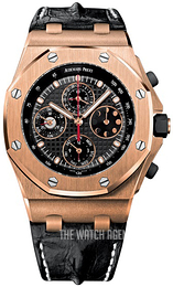 Audemars Piguet Royal Oak Offshore Black/Leather Ø42 mm 26209OR.OO.D101CR.01