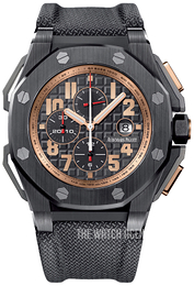 Audemars Piguet Royal Oak Offshore Black/Textile Ø48 mm 26378IO.OO.A001KE.01