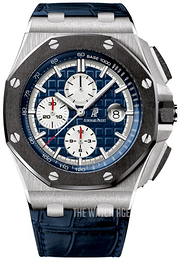 Audemars Piguet Royal Oak Offshore Blue/Leather Ø44 mm 26401PO.OO.A018CR.01