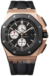 Audemars Piguet Royal Oak Offshore Black/Rubber Ø44 mm 26401RO.OO.A002CA.01