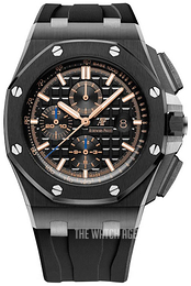 Audemars Piguet Royal Oak Offshore Black/Rubber Ø44 mm 26405CE.OO.A002CA.02
