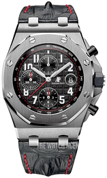 Audemars Piguet Royal Oak Offshore Black/Leather Ø42 mm 26470ST.OO.A101CR.01