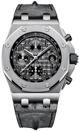 Audemars Piguet Royal Oak Offshore Grey/Leather Ø42 mm 26470ST.OO.A104CR.01