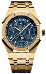 Audemars Piguet Royal Oak Blue/18 carat yellow gold Ø41 mm 26574BA.OO.1220BA.01