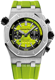 Audemars Piguet Royal Oak Offshore Green/Rubber Ø42 mm 26703ST.OO.A038CA.01