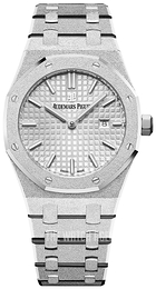 Audemars Piguet Royal Oak Silver colored/18 carat white gold Ø33 mm 67653BC.GG.1263BC.01