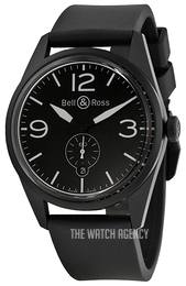 Bell & Ross BR 123 Black/Rubber Ø41 mm BRV123-BL-CA-SRB